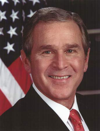 Bush official portrait